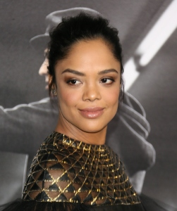 WESTWOOD, CA - NOVEMBER 19: Tessa Thompson attends Warner Bros. Pictures' 'Creed' Premiere at Regency Village Theatre on November 19, 2015 in Westwood, California. (Photo by JB Lacroix/WireImage)
