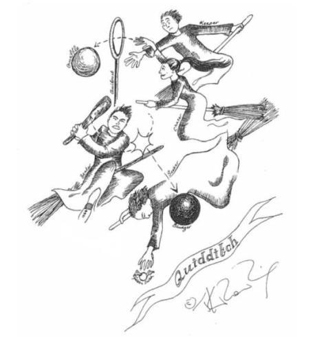 harry potter rowling illustration