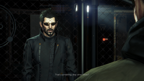 Our hero, Mr. Adam Jensen