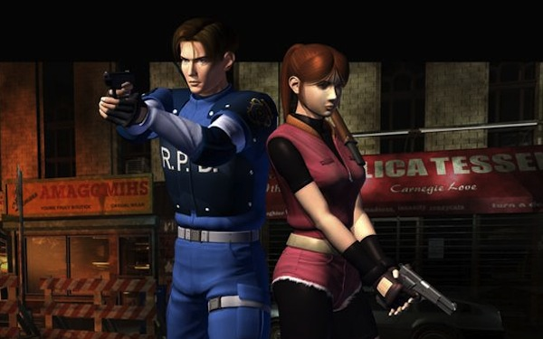 re2-protagonists
