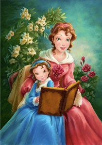 Belle-and-her-Mother-beauty-and-the-beast-31957931-1121-1600